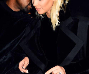 kanye west, kim k, and obsessed image
