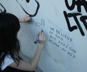 god, grunge, and believe image