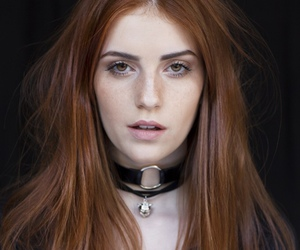 redhead and girl image