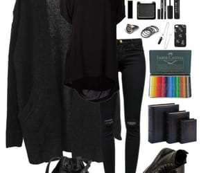 black, gothic, and canibel image
