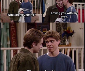 90s, boy meets world, and shawn hunter image