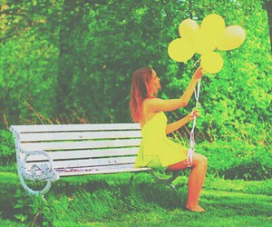 balloons and yellow image