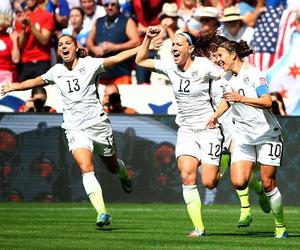 soccer, usa, and world champions image