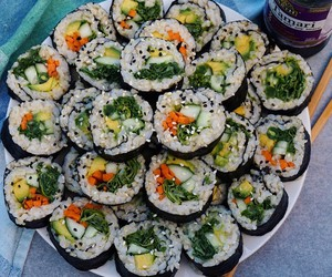 food, health, and sushi image