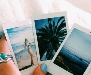 summer, tumblr, and polaroid image