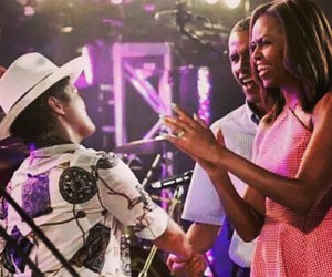 barack obama, first lady, and michelle obama image