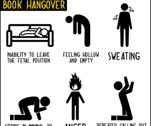book, funny, and hangover image