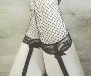 black, seduce, and seductive image