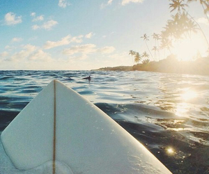 Island, surf, and travel image