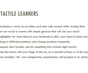 guide, study tips, and learning styles image