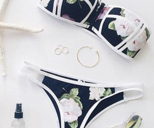 fashion, bikini, and summer image