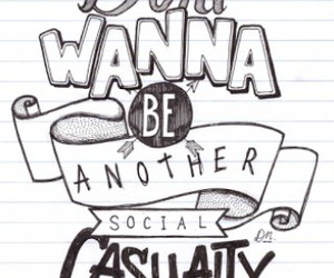 5sos, social casualty, and Lyrics image