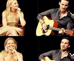 once upon a time, captain swan, and jen morrison image