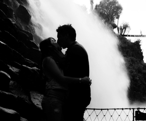 black and white, mexico, and couple image