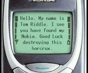 funny, harry potter, and horcrux image