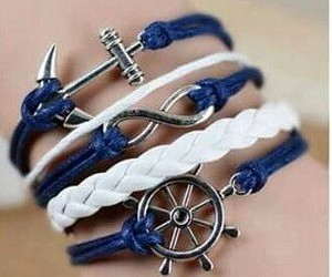 pulseras, anchor, and shoes image