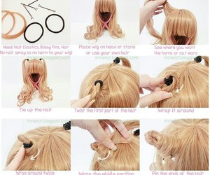 cat ears, tutorial, and wig image