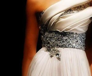 diamonds, dress, and glamour image