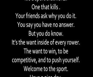 quotes, rowing, and sport image