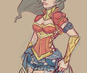 wonder woman and dc comics image