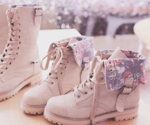 beige, boots, and cute image