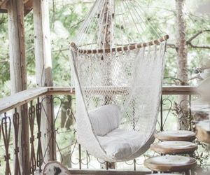 home, hammock, and house image