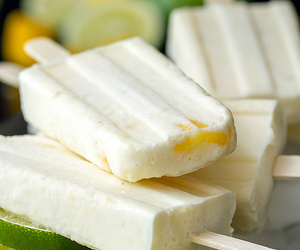 coconut, lime, and mango image