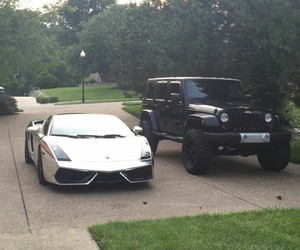 car, Corvette, and jeep image