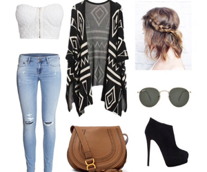 bag, Polyvore, and clothes image
