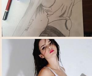 art and kandall jenner image