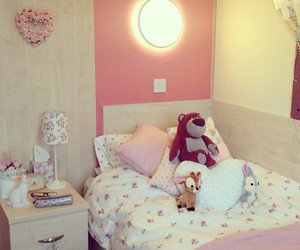 pink, girly, and home image