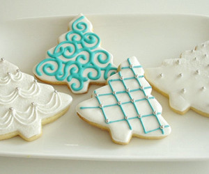 Cookies, christmas, and food image