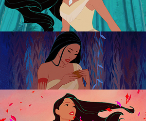 pocahontas, disney, and princess image
