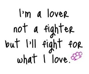 love, fighter, and lover image