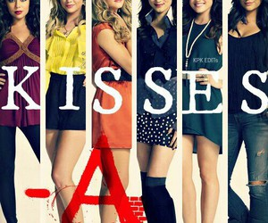 pretty little liars, pll, and kiss image