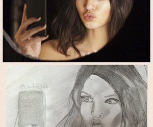 art and kendall jenner image