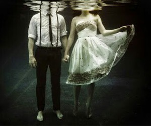 couple, water, and boy image