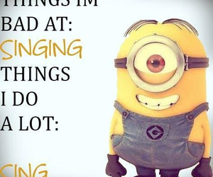 quote and minion image