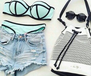 summer, fashion, and bikini image