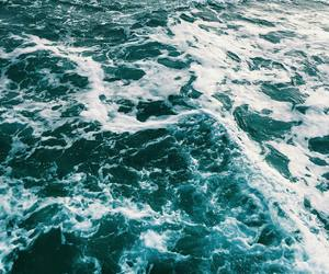 grunge, nature, and ocean image