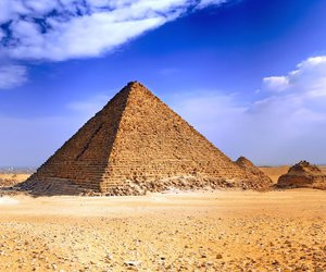 egypt, pyramid, and summer image