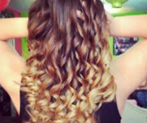blond, brown, and curls image