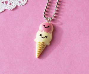 ice cream, jewelry, and kawaii image