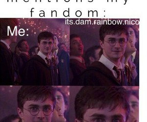 fandom, harry potter, and books image