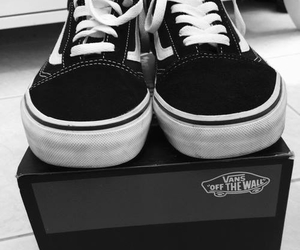 shoes, vans, and vans off the wall image