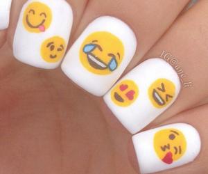 nails, emoji, and emojis image
