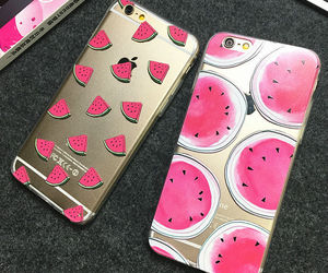 watermelon, iphone, and case image
