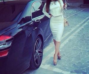 car, fashion, and heels image