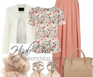 dress, islam, and fashion image