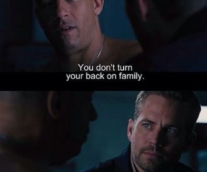 paul walker, family, and quote image